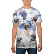 Big Men's All Over Pugs The Limit Pop Culture Graphic Tee