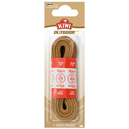"Image of KIWI Leachther Rawhide Laces Golden Brown 72"" 1 pair"