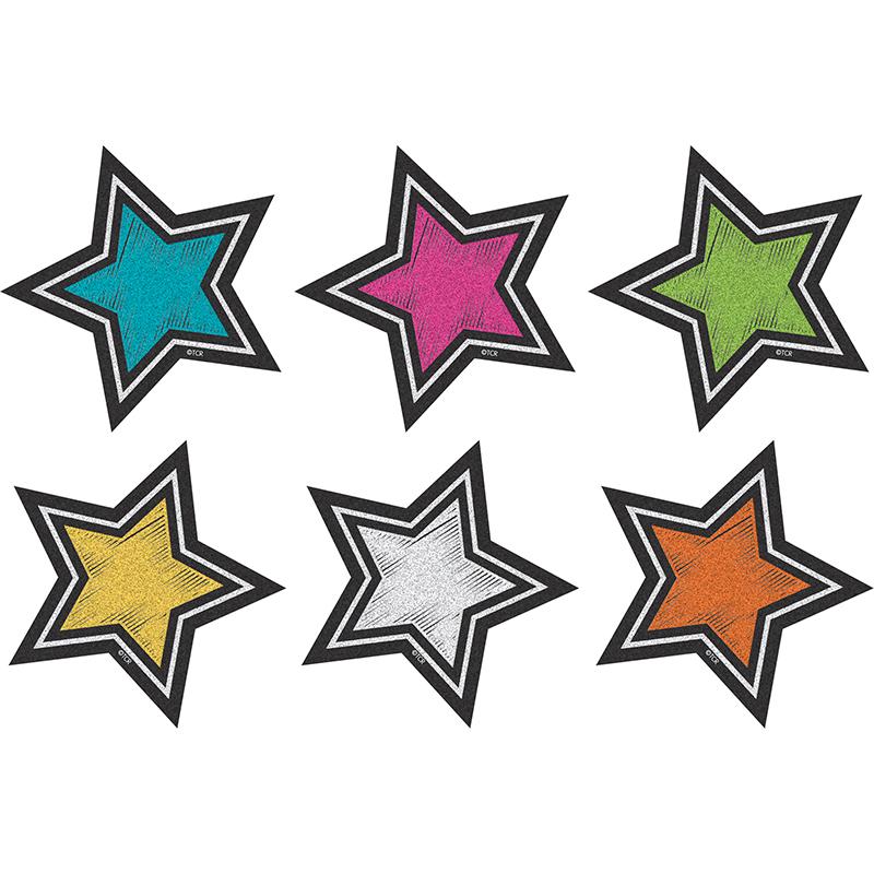 CHALKBOARD BRIGHT STAR MINI ACCENTS