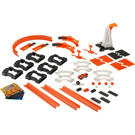 Hot Wheels Track Builder Construction Crash Kit