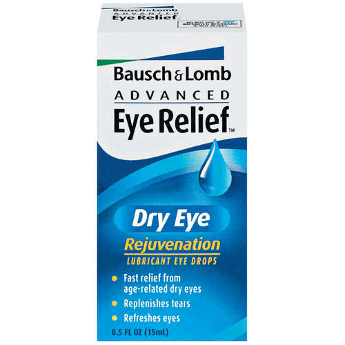 Advanced Eye Relief Dry Eye Rejuvenation Lubricant Eye Drops, .5 fl oz