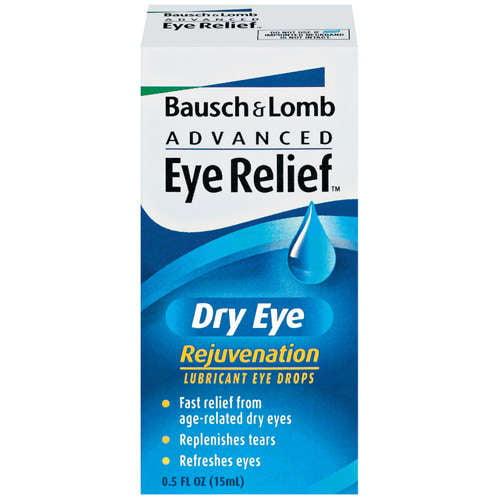 Bausch + Lomb Advanced Eye Relief Dry Eye, 0.5 FL oz