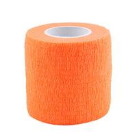 Yosoo 5 Rolls /set Waterproof Self Adhesive Bandage Tape Finger Joints Wrap Sports Care,Self Adhesive Bandage ,Elastic Bandage