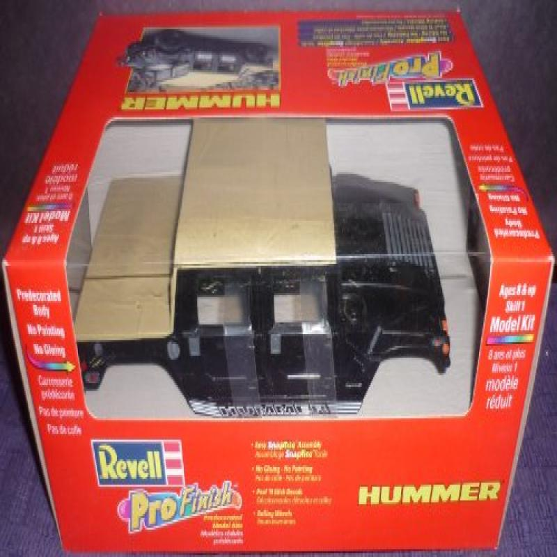 Revell ProFinish Predecorated Hummer Model by