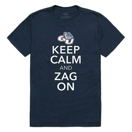 Gonzaga University Bulldogs Keep Calm T-Shirt