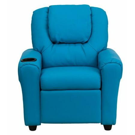 Astounding Zoomie Kids April Kids Recliner Chair With Cup Holder Machost Co Dining Chair Design Ideas Machostcouk