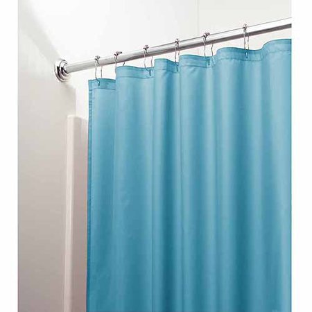 Interdesign Mildew Free Water Repellent Fabric Shower Curtain Liner Various Sizes