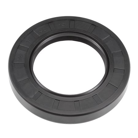 Oil Seal, TC 55mm x 90mm x 12mm, Nitrile Rubber Cover Double (Quantaray 28 90mm 3-5 5-6 Af Canon)