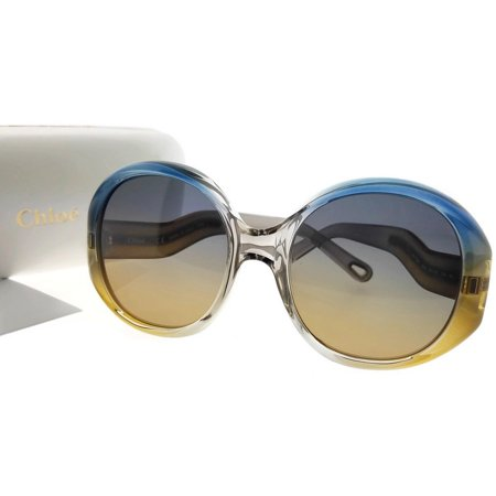 Chloe CE732S-428-57 Women's Multicolor Frame Grey Lens Genuine Sunglasses NWT Multi Lens Sunglasses