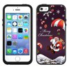 Skin Decal for OtterBox Symmetry Apple iPhone SE Case - Merry Christmas Santa Claus on Parachute