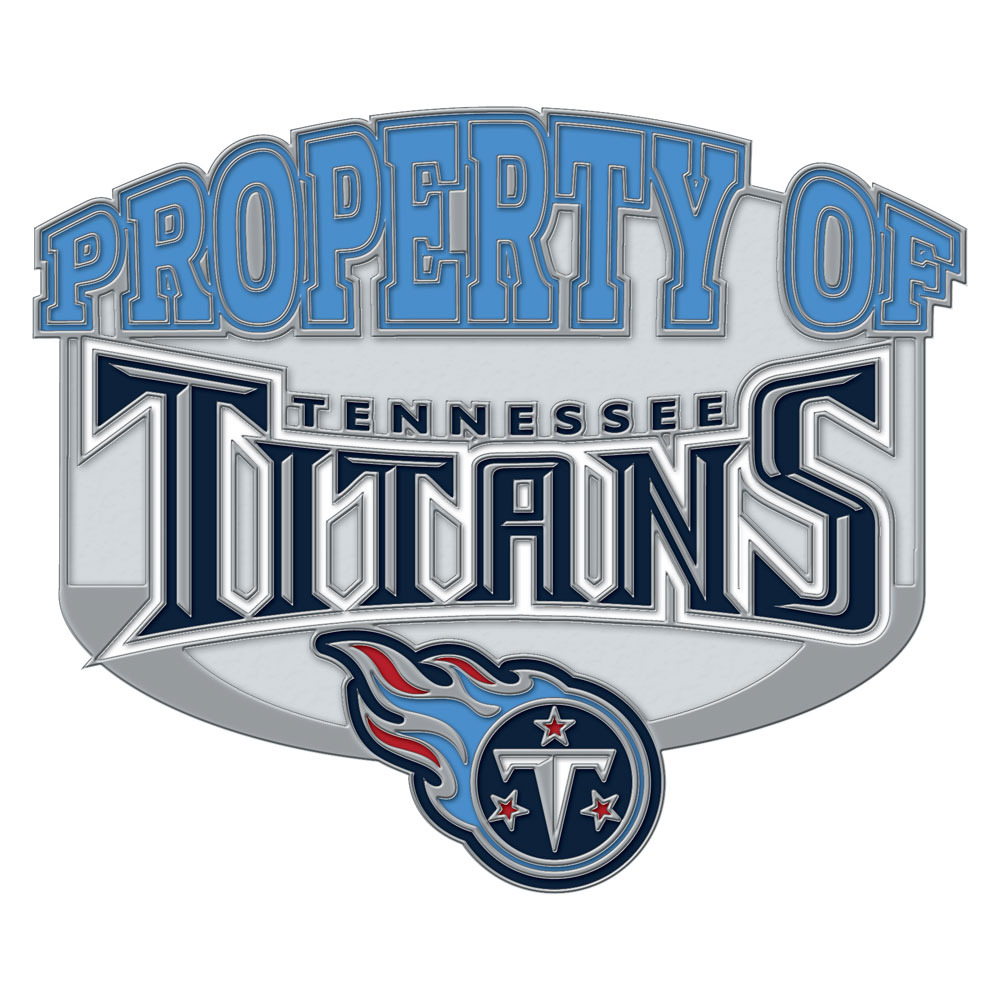 Tennessee Titans Property Of Cloisonne Pin by Wincraft