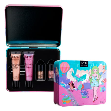 NYX Professional Makeup Sprinkle Town Shimmer Eye and Lip Set