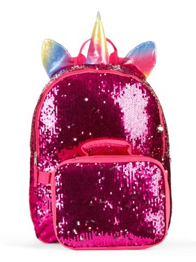 06b3a9f75 Product Image 2-Way Sequin Unicorn Backpack w/ Lunch