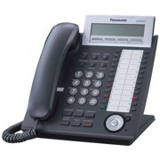 Refurbished Panasonic KX-NT343-B Hybrid Corded IP Phone (Black)