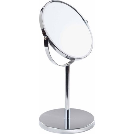 mirror on a stand vanity. 7  Vanity 5x Standup Mirror Chrome Walmart com