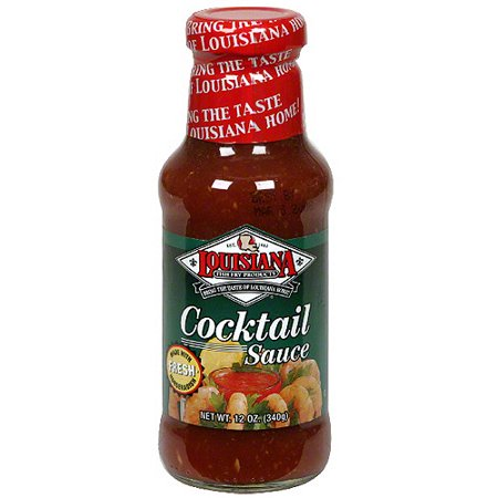 Louisiana fish fry products cocktail sauce 12 oz pack of for Louisiana fish fry products