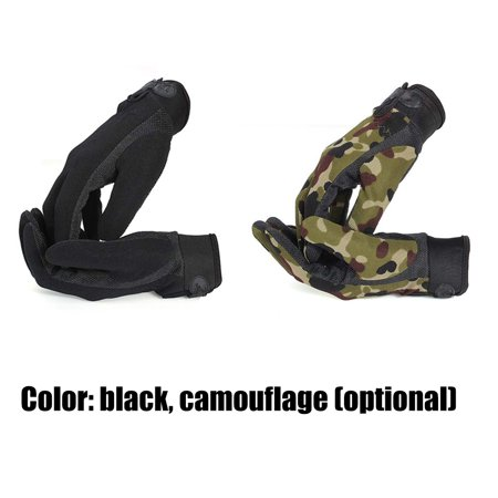 Outdoor Sport Mitten Camouflage Game Training Multifunctional Universal Honorable Person CS Riding Non-slip Glove - image 2 de 5