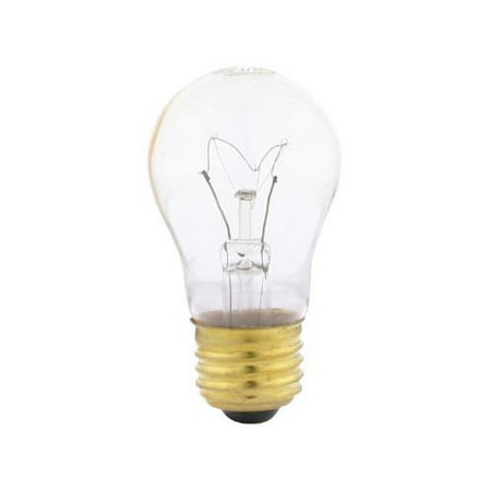 SUNLITE 40w A15 120v Medium Base Clear Bulb Appliance Light Bulb