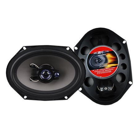 "SPEAKER 6X8"" 3-WAY XXX 350 WATTS (NO GRILLS)"