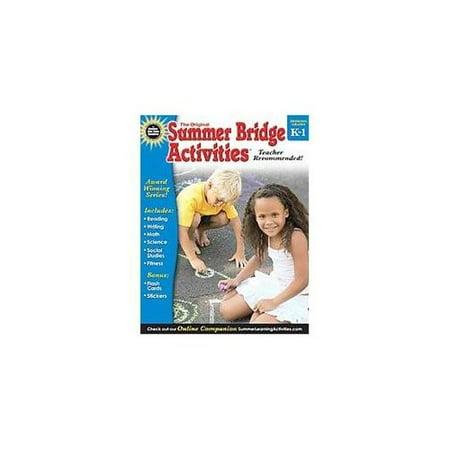 Summer Bridge Activities, Grades K - 1: Bridging Grades ...