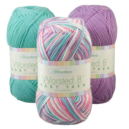 Herrschners Worsted 8 Baby Value Yarn (Encore Worsted)