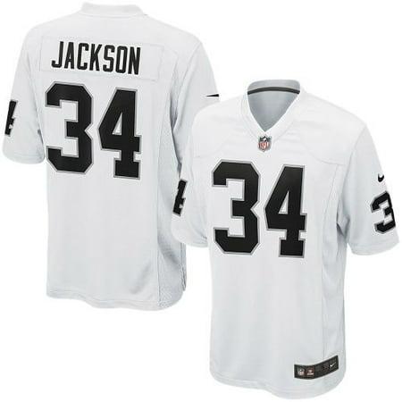 Bo Jackson Oakland Raiders Nike Retired Player Game Jersey -