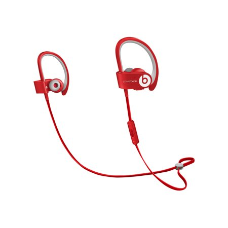 Beats Powerbeats2 Wireless - Headset - in-ear - over-the-ear mount - wireless - Bluetooth - red - for 12.9-inch iPad Pro; 9.7-inch iPad Pro; iPad (3rd generation); iPad 1; 2; iPad Air; iPad Air 2; iPad mini; iPad mini 2; 3; 4; iPad with Retina display; iPhone 3G, 3GS, 4, (Best Amp For Ipod Classic)