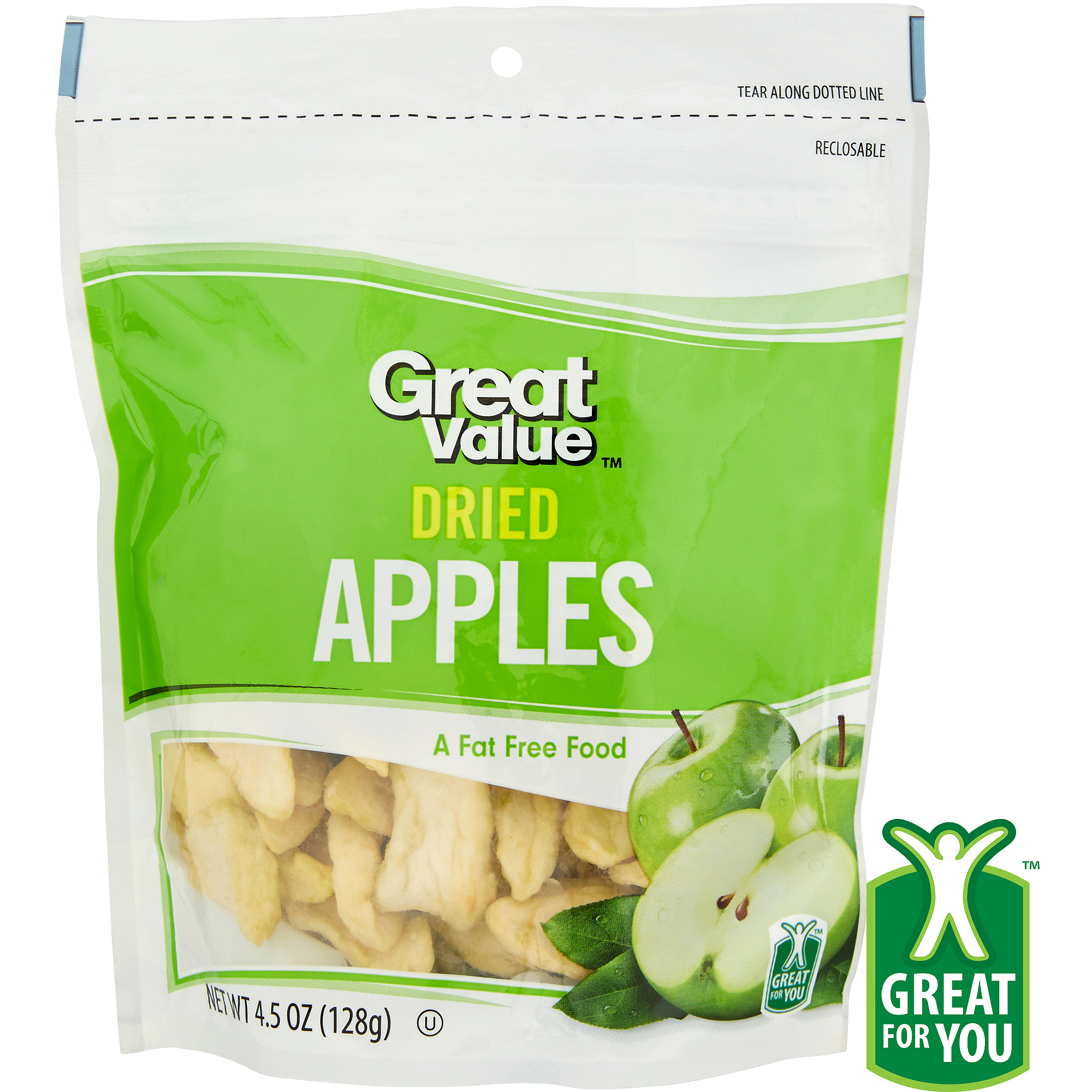Great Value: Dried Apples, 4.5 Oz