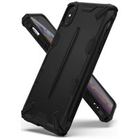 iPhone XS Max Case, Ringke [Dual-X] Double Layer Reinforced Heavy Duty Defense Shock Absorption Ergonomic Grip Armor Cover for Apple iPhoneXS Max - SF Black