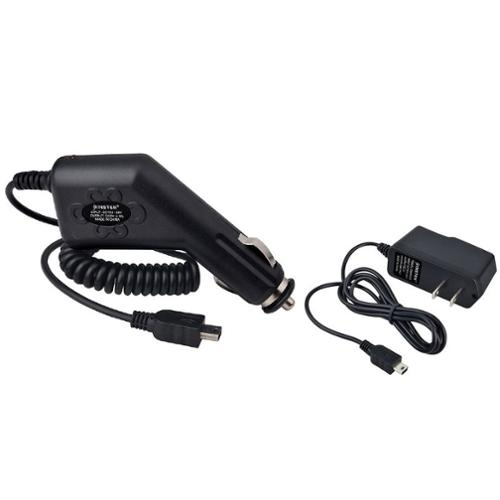 Insten WALL AC + CAR CHARGER FOR GARMIN NUVI 1350 205 265W 250