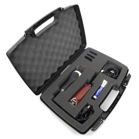Forster Case Trimmer - CLIPSAFE Buzzer , Clipper , Trimmer Hard Organizer Case for Stylist or Barber Fits Oster Classic 76 , Wahl , Andis and More or Cordless Clippers , Blades , Scissors , Comb and Hair Accessories