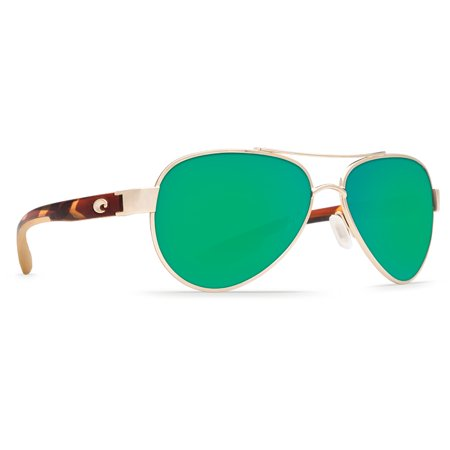 Costa Del Mar Loreto Rose Gold Square (Are All Costas Polarized)