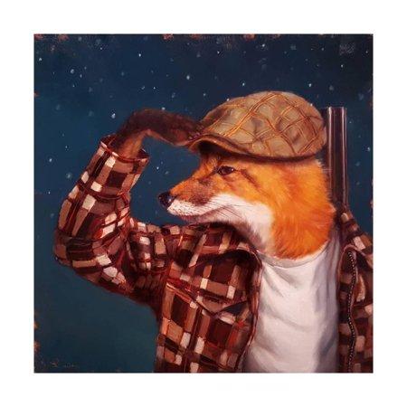 Fox Hunt Scene - Fox Hunt Print Wall Art By Lucia Heffernan