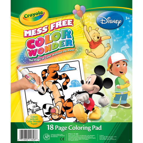 Crayola Color Wonder Disney 18-page Coloring Pad