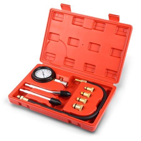Dwyer Differential Pressure Gauge - VETOMILE Engine Cylinder Pressure Gauge Diagnostic Tool Compression Tester Set