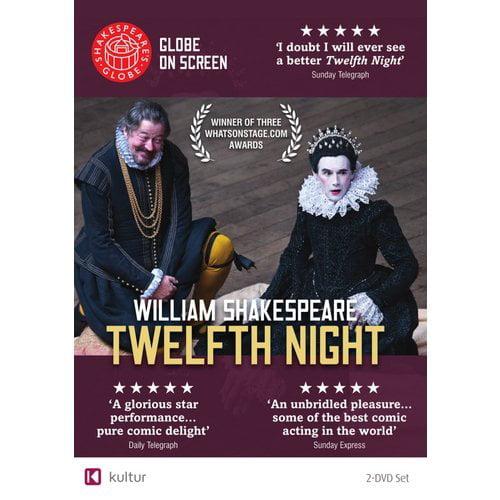 Twelfth Night: Shakespeare's Globe Theatre on Screen (DVD) by Bayview/widowmaker