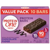 Protein One 90 Calorie Chocolate Fudge Bars 10 ct, 9.6 oz