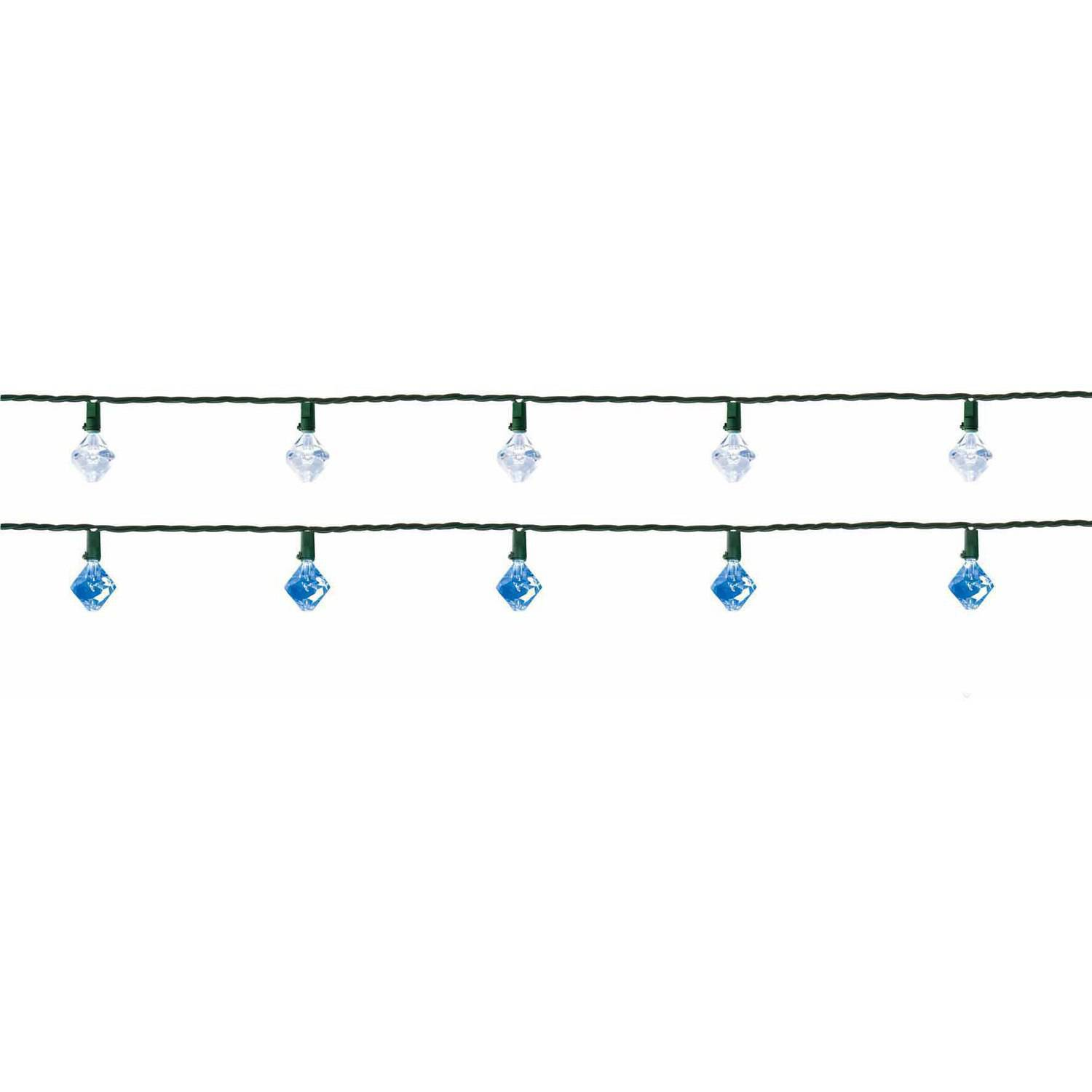Holiday Time LED Color-Changing Chandelier Prism Christmas Lights ...