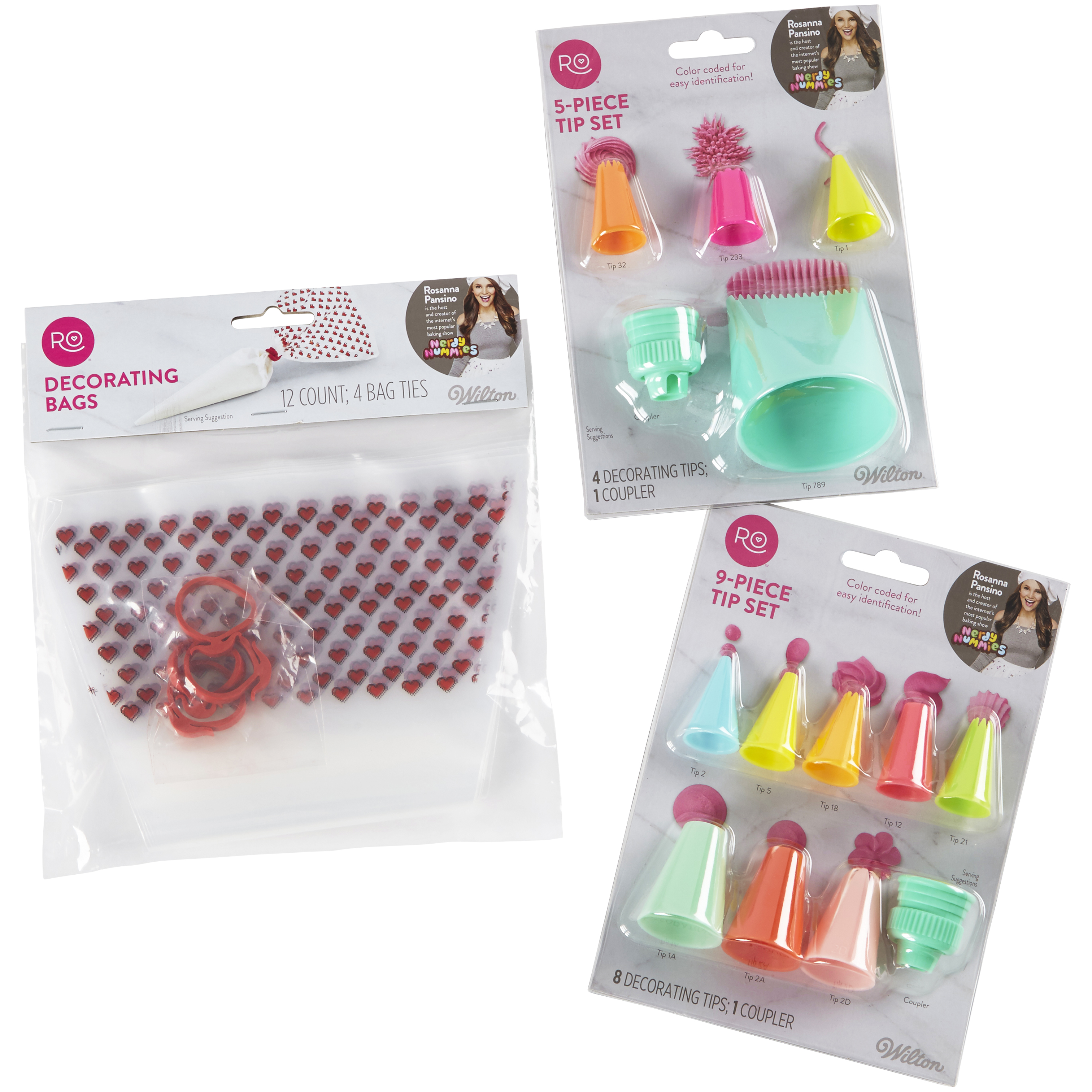 Wilton Rosanna Pansino Beginner Cake Decorating Set