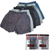 6 Men Knocker Boxer Brief Underwear Male Elastic Waistband Brief Shorts Size