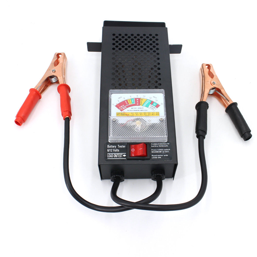 Car Truck Battery Load Tester 100 Amp Load Type 6V 12V Mechanics Display Volt