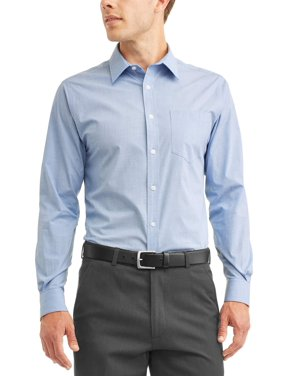 475a7099cf2455 Product Image George Long Sleeve Mens Performance Dress Shirt