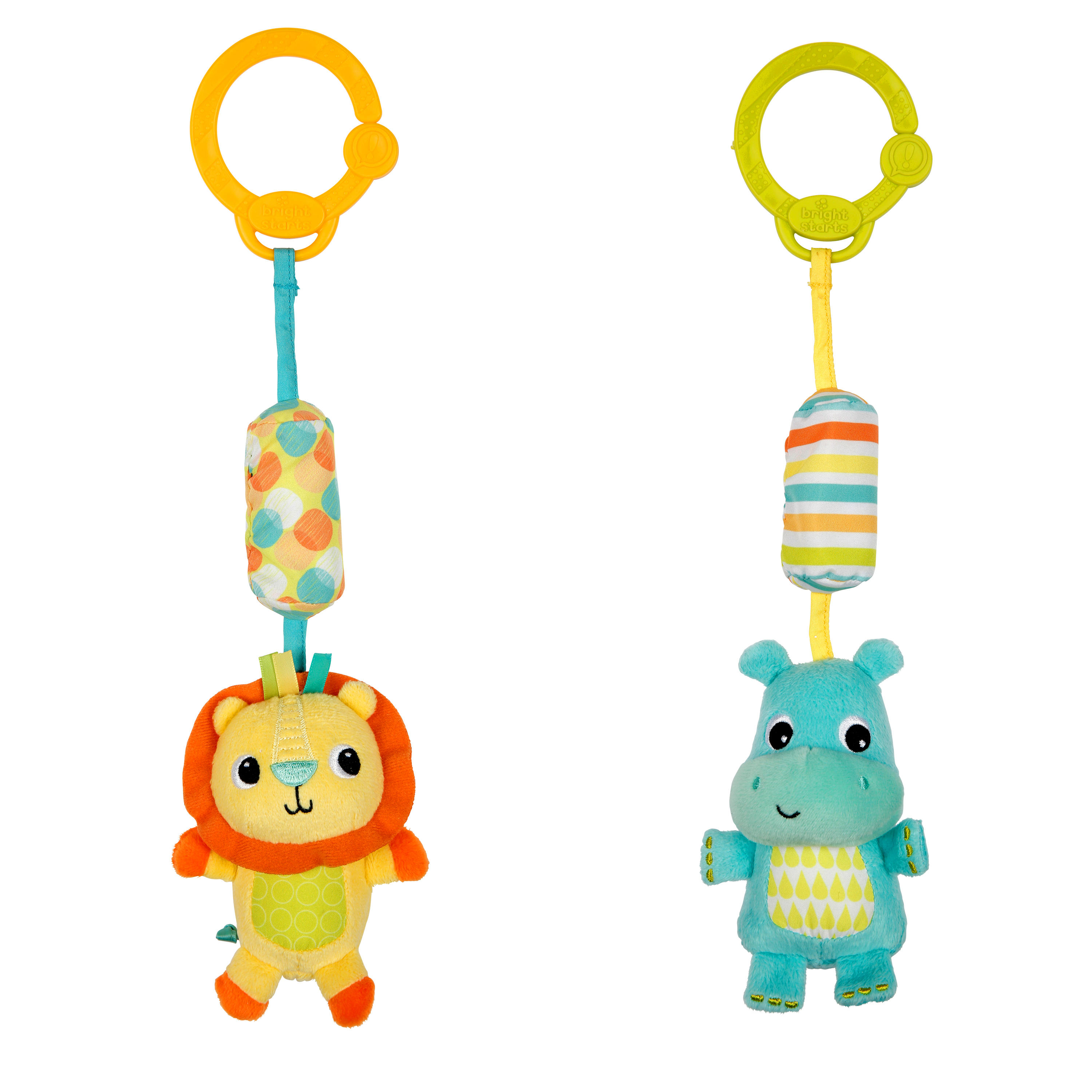 Bright Starts Chime Along Friends Take Along Toys
