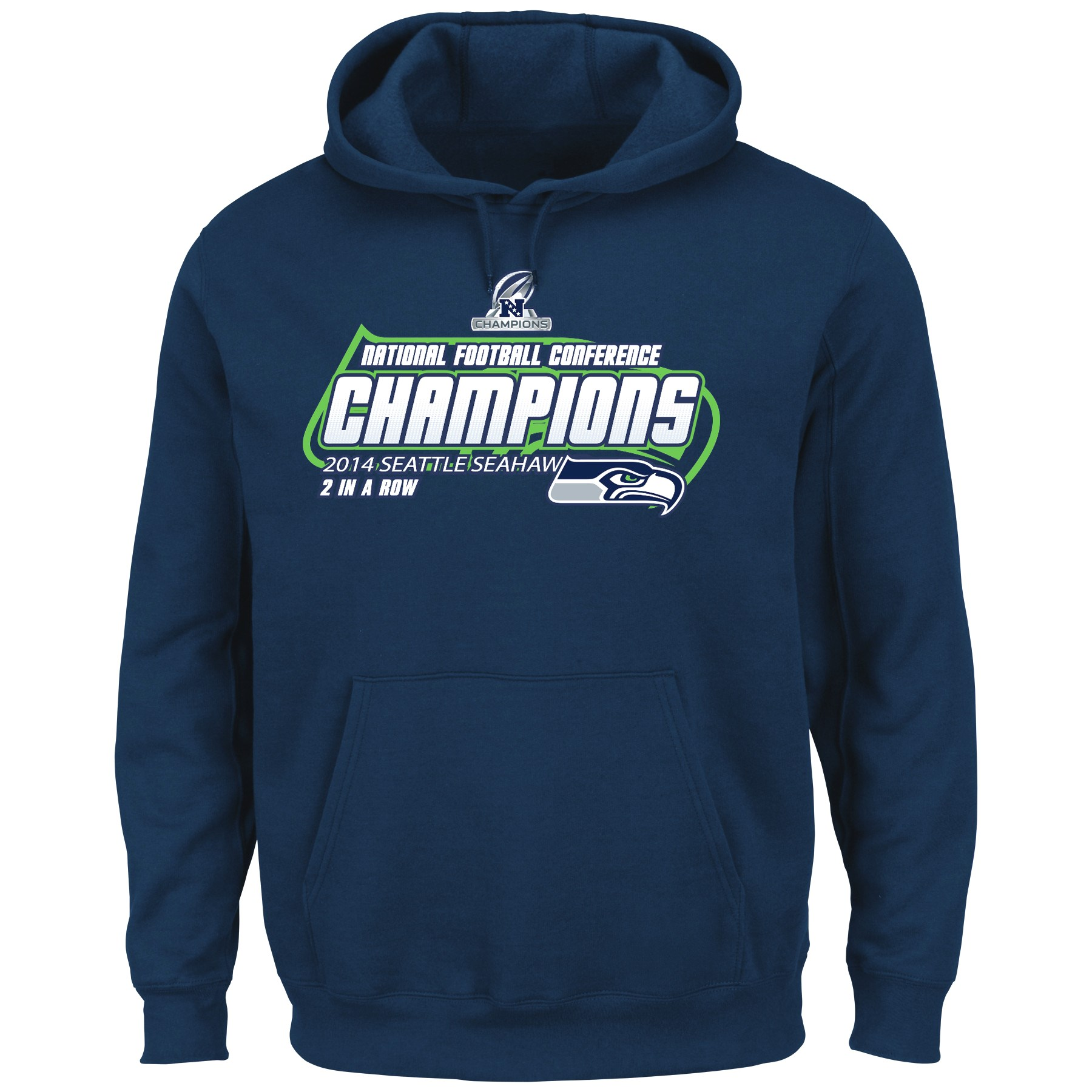 "Seattle Seahawks Majestic 2014 NFC Conference Champions ""Supremacy"" Sweatshirt"