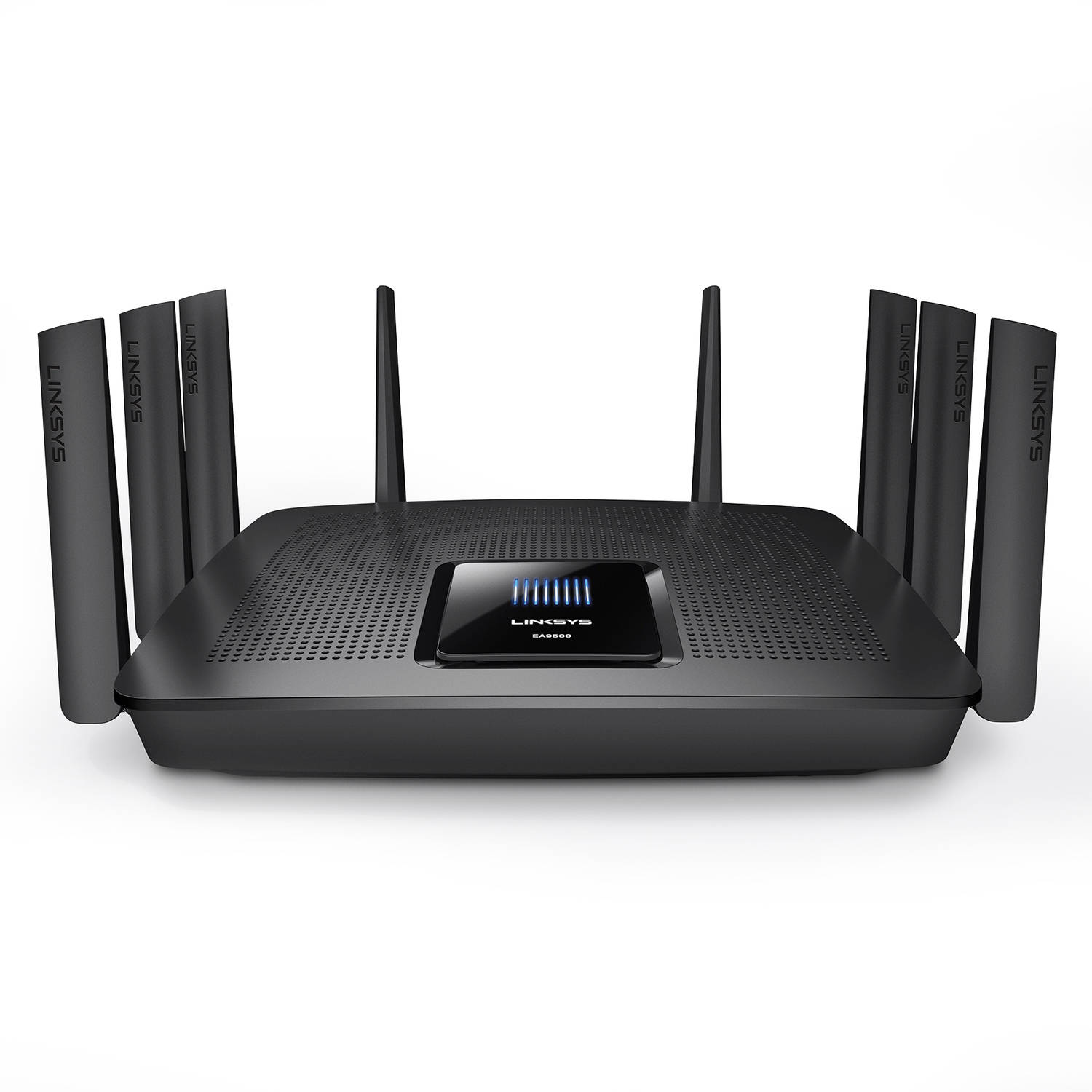 Linksys Max-Stream EA9500 IEEE 802.11ac Ethernet Wireless Router 2.40 GHz ISM Band 5 GHz UNII Band(8 x External) 5427.20... by Linksys