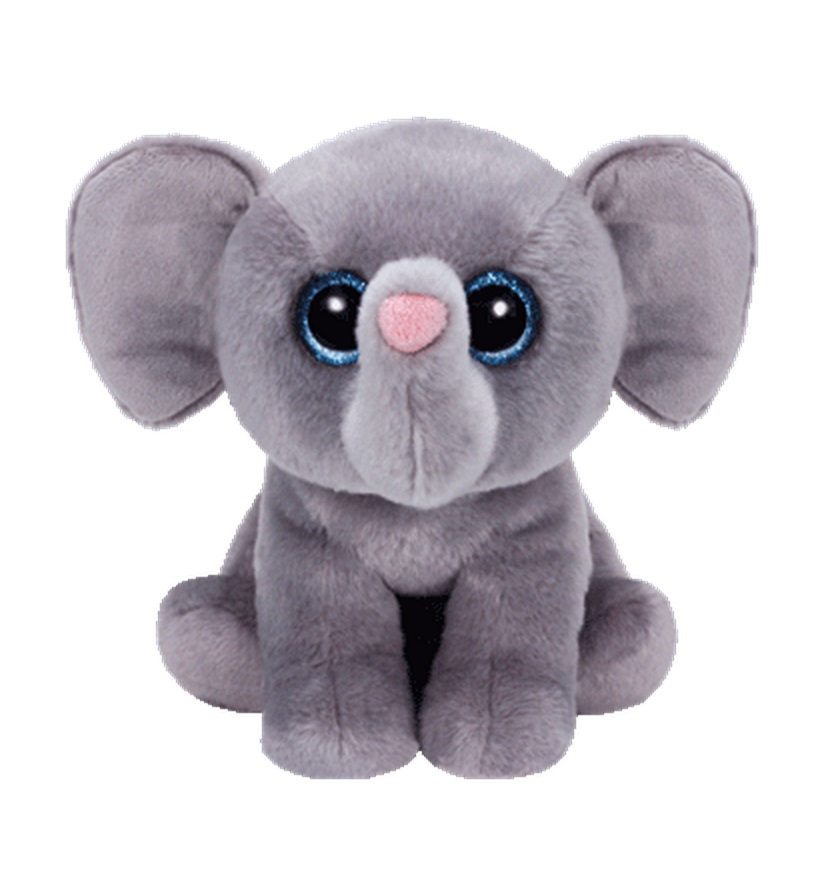 TY Classic Plush - WHOPPER the Grey Elephant (13 inch)