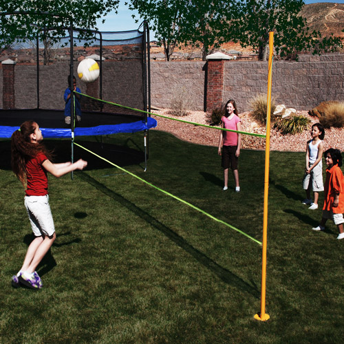 AZOOGA  Volleyball Trampoline Game