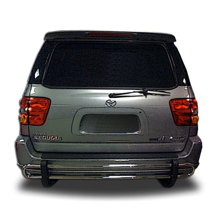 Broadfeet Rear Double Pipe for 2001-2007 Toyota Sequoia in Stainless Steel Stainless Steel Brick Light