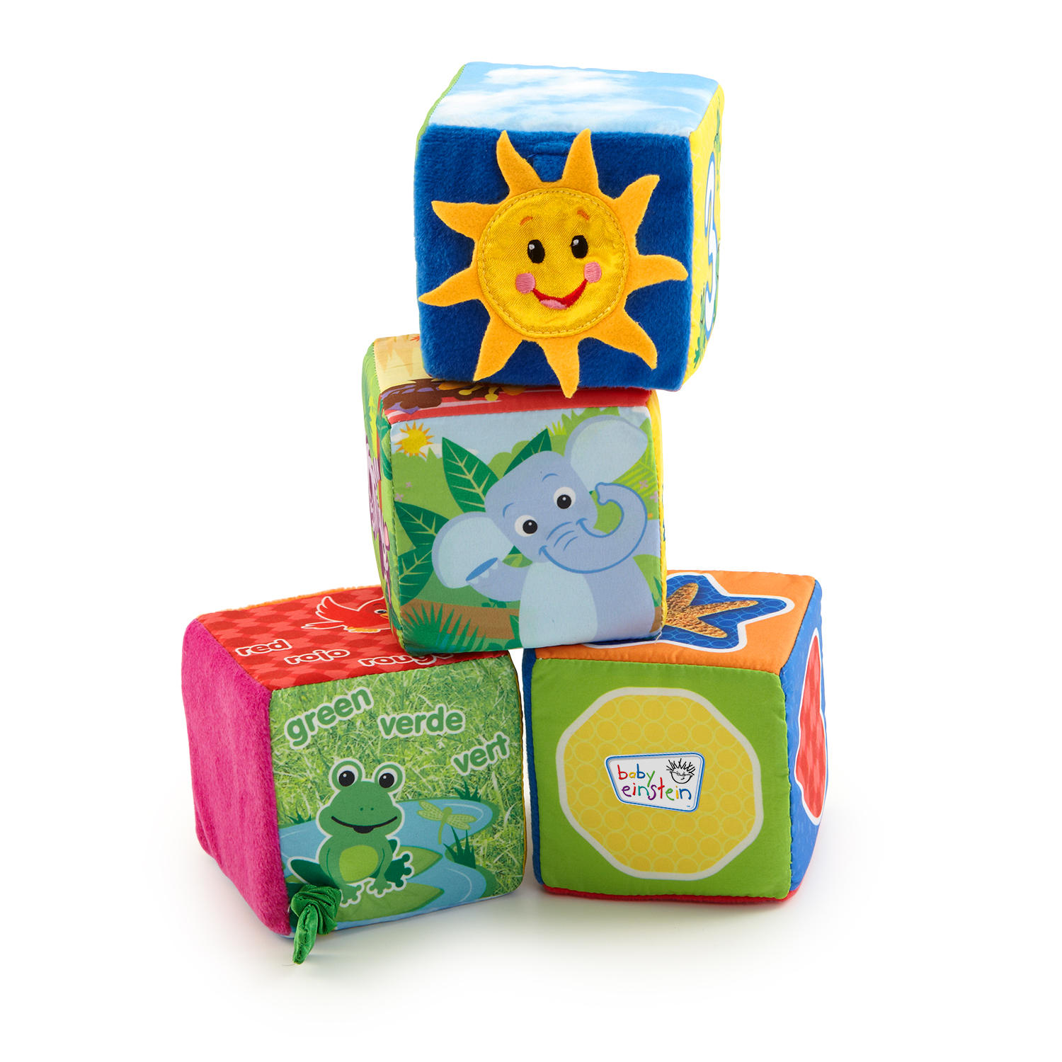 Baby Einstein Explore & Discover Soft Blocks Toys