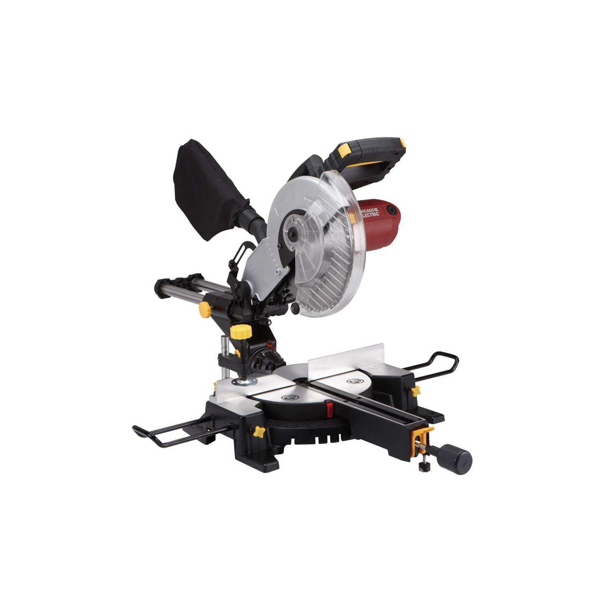 Chicago Electric Power Tools 10 in. Sliding Compound Miter Saw 61971 by
